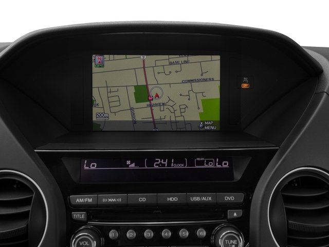 2015 Honda Pilot Prices and Values Utility 4D Touring 4WD V6 navigation system