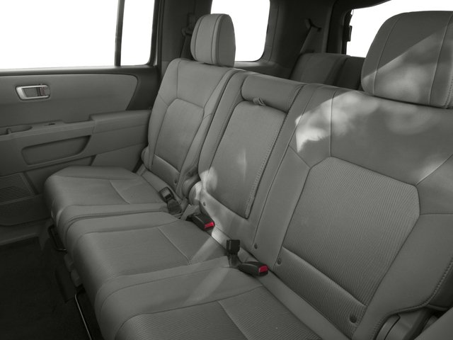 2015 Honda Pilot Prices and Values Utility 4D EX 4WD V6 backseat interior