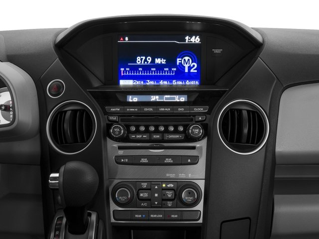 2015 Honda Pilot Prices and Values Utility 4D SE 2WD V6 stereo system