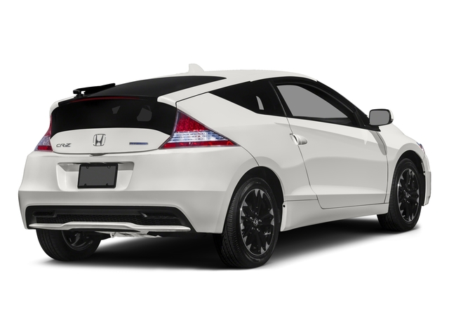 2015 Honda CR-Z Prices and Values Coupe 2D EX I4 Hybrid side rear view