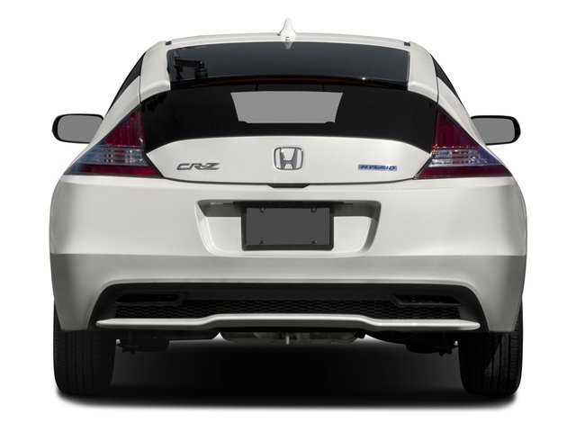 2015 Honda CR-Z Prices and Values Coupe 2D EX I4 Hybrid rear view