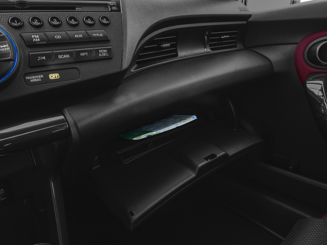 2015 Honda CR-Z Prices and Values Coupe 2D EX I4 Hybrid glove box