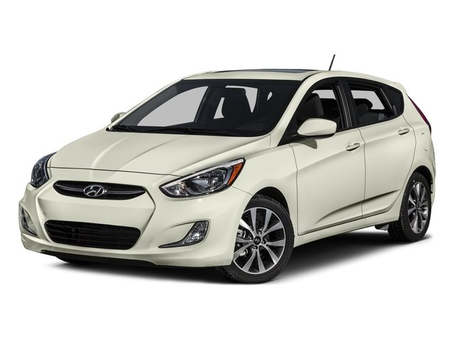 2015 Hyundai Accent Prices and Values Hatchback 5D Sport I4 side front view