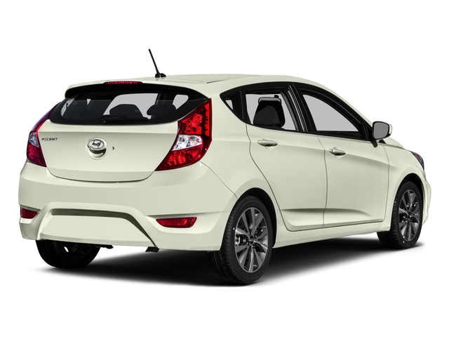 2015 Hyundai Accent Prices and Values Hatchback 5D Sport I4 side rear view