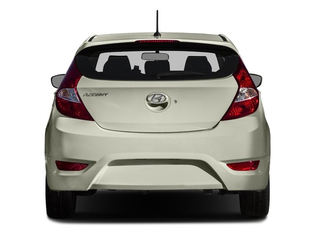 2015 Hyundai Accent Prices and Values Hatchback 5D Sport I4 rear view
