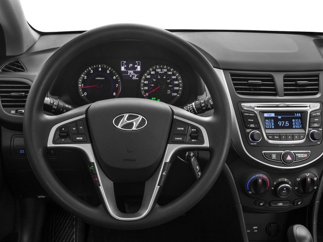 2015 Hyundai Accent Prices and Values Hatchback 5D Sport I4 driver's dashboard