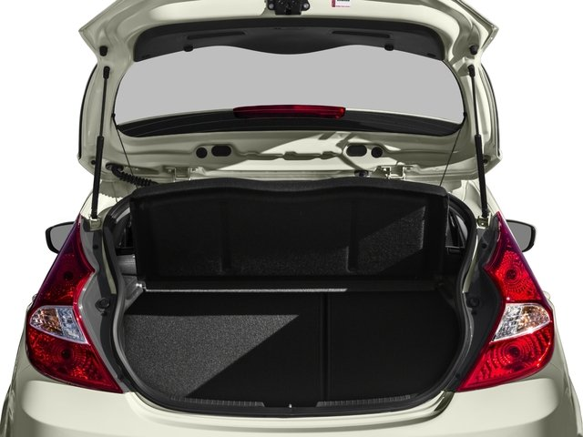 2015 Hyundai Accent Prices and Values Hatchback 5D Sport I4 open trunk