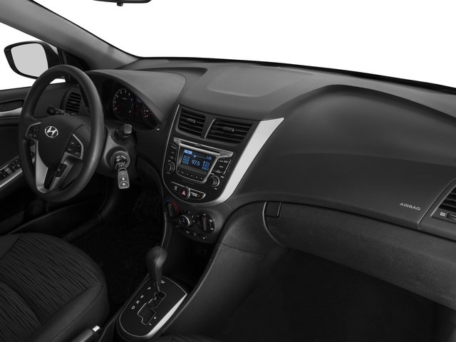 2015 Hyundai Accent Prices and Values Hatchback 5D Sport I4 passenger's dashboard