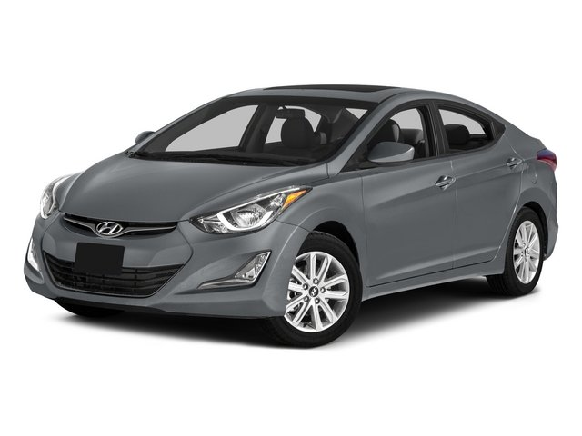 2015 Hyundai Elantra Prices and Values Sedan 4D Limited I4 side front view