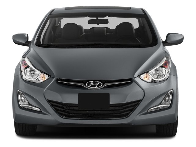 2015 Hyundai Elantra Prices and Values Sedan 4D Limited I4 front view