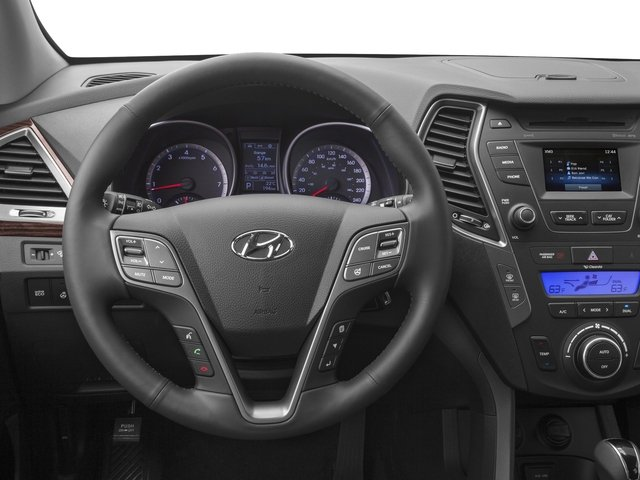 2015 Hyundai Santa Fe Prices and Values Utility 4D GLS 2WD driver's dashboard