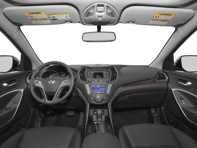 2015 Hyundai Santa Fe Prices and Values Utility 4D GLS 2WD full dashboard