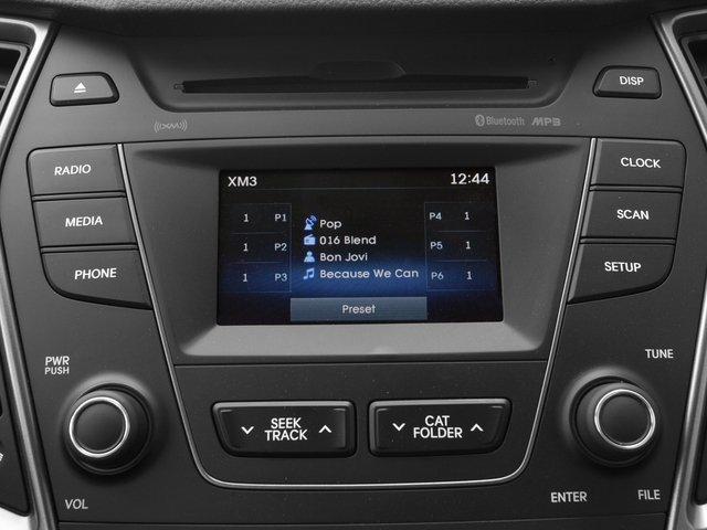 2015 Hyundai Santa Fe Prices and Values Utility 4D GLS Premium AWD stereo system