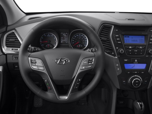 2015 Hyundai Santa Fe Sport Prices and Values Utility 4D Sport 2.0T 2WD driver's dashboard