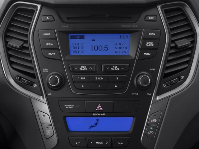 2015 Hyundai Santa Fe Sport Prices and Values Utility 4D Sport 2.0T 2WD stereo system