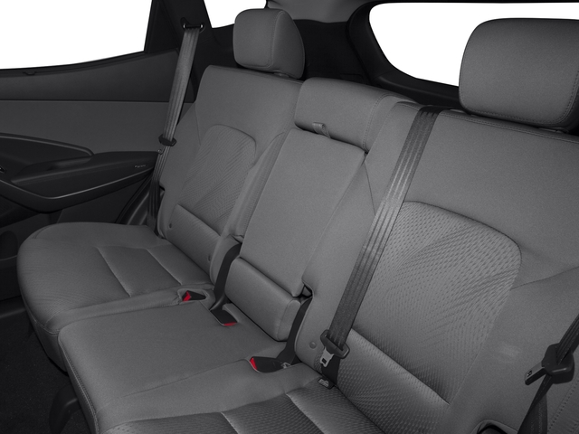 2015 Hyundai Santa Fe Sport Prices and Values Utility 4D Sport AWD backseat interior