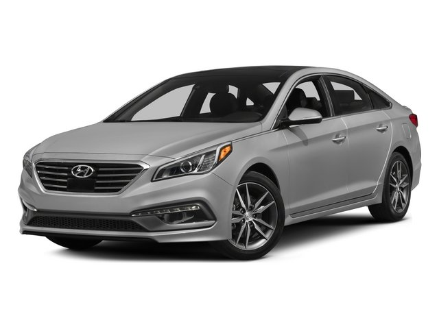 2015 Hyundai Sonata Prices and Values Sedan 4D Sport I4 Turbo side front view