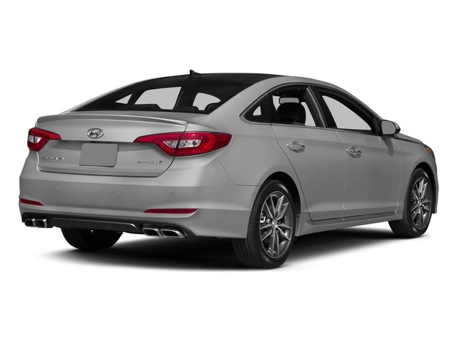 2015 Hyundai Sonata Prices and Values Sedan 4D Sport I4 Turbo side rear view