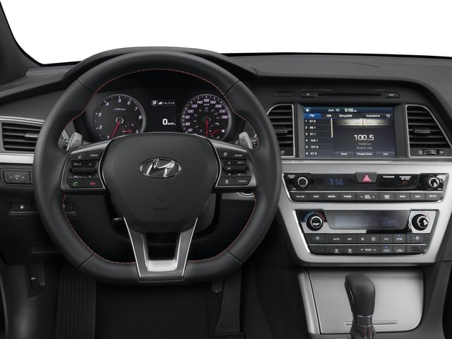2015 Hyundai Sonata Prices and Values Sedan 4D Sport I4 Turbo driver's dashboard