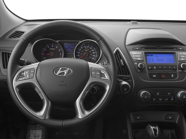 2015 Hyundai Tucson Pictures Tucson Utility 4D Limited AWD I4 photos driver's dashboard