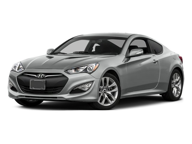 2015 Hyundai Genesis Coupe Prices and Values Coupe 2D R-Spec V6 side front view