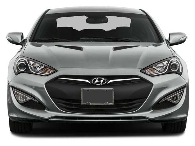 2015 Hyundai Genesis Coupe Prices and Values Coupe 2D Ultimate V6 front view