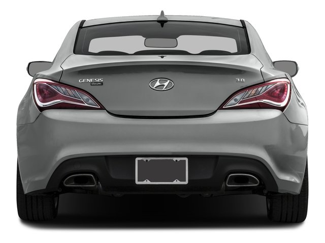 2015 Hyundai Genesis Coupe Prices and Values Coupe 2D Ultimate V6 rear view