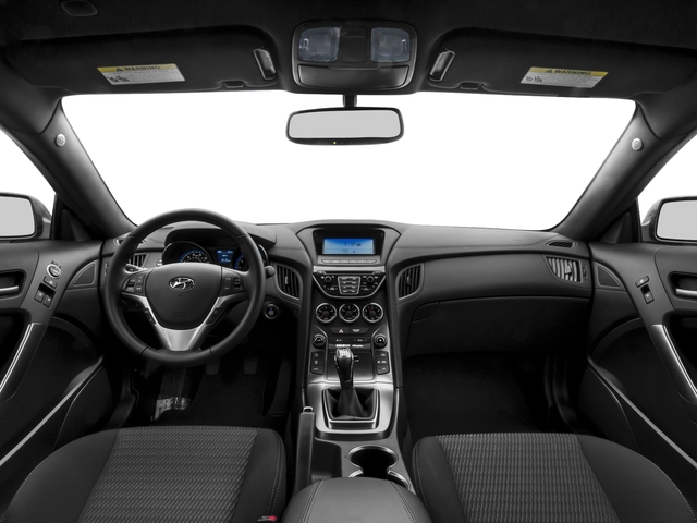 2015 Hyundai Genesis Coupe Prices and Values Coupe 2D Ultimate V6 full dashboard