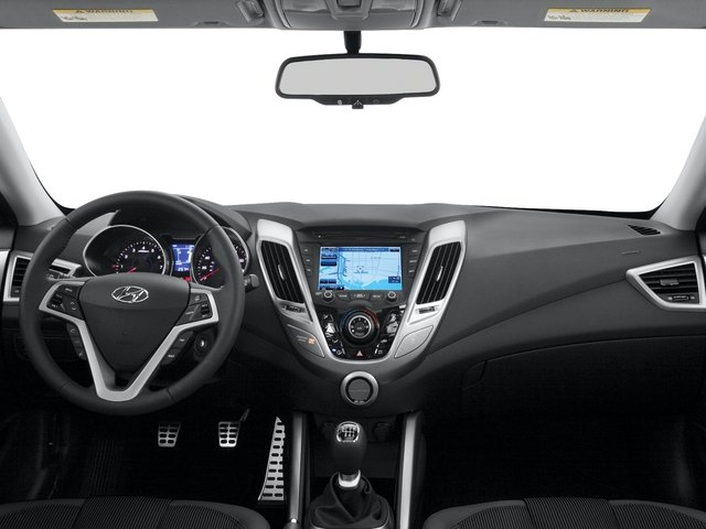 2015 Hyundai Veloster Pictures Veloster Coupe 3D I4 photos full dashboard