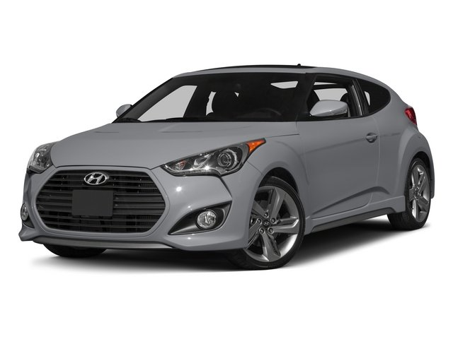 2015 Hyundai Veloster Prices and Values Coupe 3D I4 Turbo side front view
