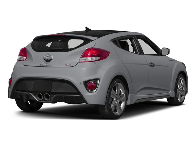 2015 Hyundai Veloster Pictures Veloster Coupe 3D I4 Turbo photos side rear view