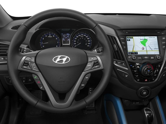 2015 Hyundai Veloster Prices and Values Coupe 3D I4 Turbo driver's dashboard