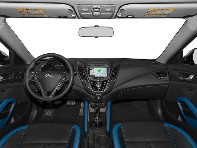 2015 Hyundai Veloster Prices and Values Coupe 3D I4 Turbo full dashboard