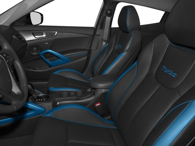 2015 Hyundai Veloster Pictures Veloster Coupe 3D I4 Turbo photos front seat interior