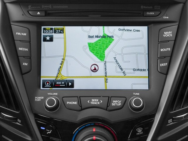 2015 Hyundai Veloster Prices and Values Coupe 3D I4 Turbo navigation system