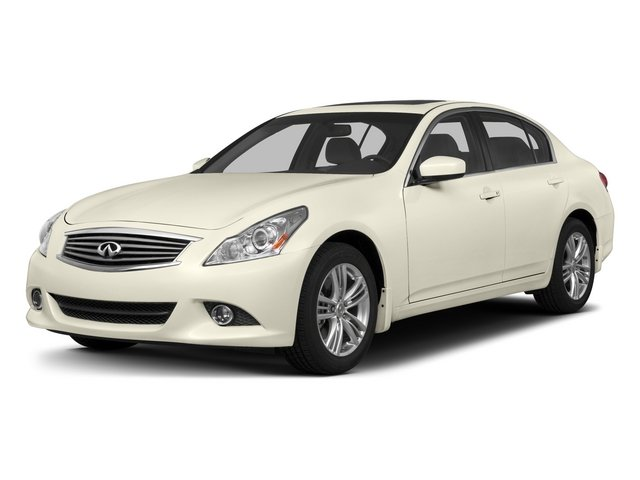 2015 INFINITI Q40 Prices and Values Sedan 4D AWD V6 side front view