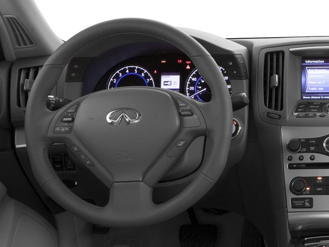 2015 INFINITI Q40 Prices and Values Sedan 4D AWD V6 driver's dashboard