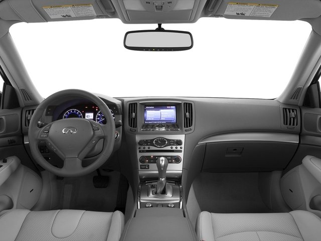 2015 INFINITI Q40 Prices and Values Sedan 4D AWD V6 full dashboard