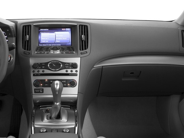 2015 INFINITI Q40 Prices and Values Sedan 4D AWD V6 passenger's dashboard