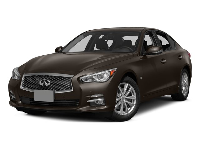 2015 INFINITI Q50 Prices and Values Sedan 4D Sport V6 side front view