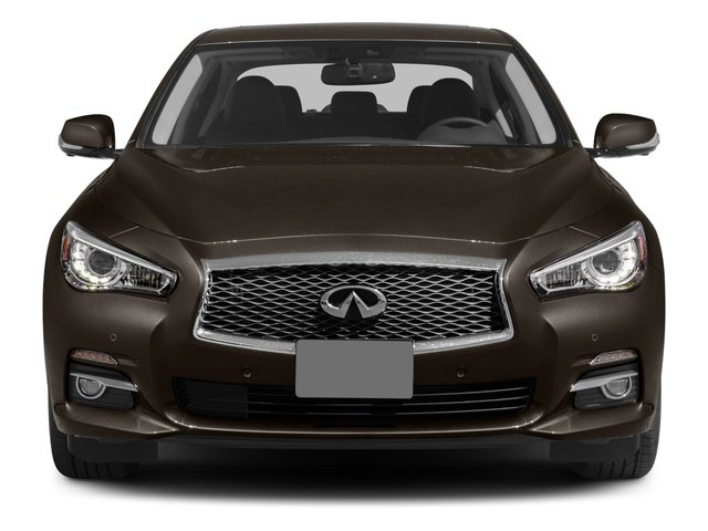 2015 INFINITI Q50 Prices and Values Sedan 4D Sport V6 front view