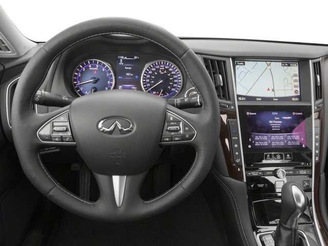 2015 INFINITI Q50 Prices and Values Sedan 4D Premium AWD V6 driver's dashboard