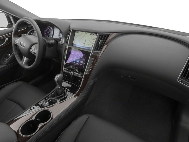 2015 INFINITI Q50 Prices and Values Sedan 4D Premium AWD V6 passenger's dashboard