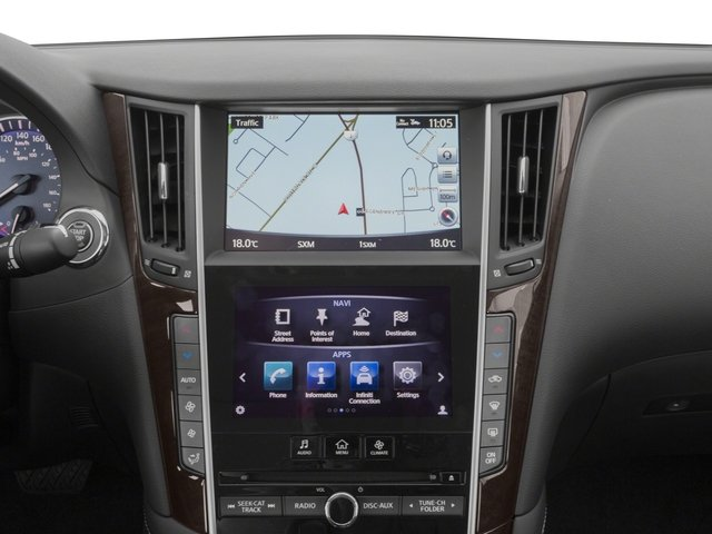 2015 INFINITI Q50 Prices and Values Sedan 4D Sport V6 navigation system