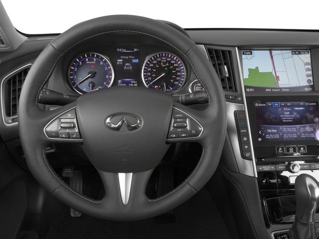 2015 INFINITI Q50 Prices and Values Sedan 4D Sport AWD V6 Hybrid driver's dashboard