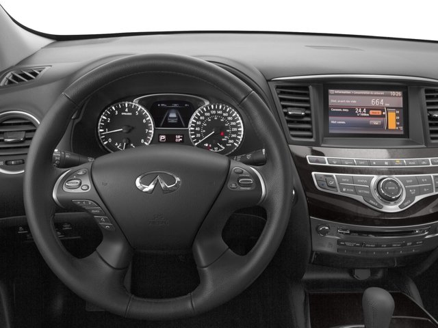 2015 INFINITI QX60 Prices and Values Utility 4D 2WD V6 driver's dashboard