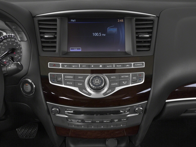 2015 INFINITI QX60 Prices and Values Utility 4D Hybrid 2WD I4 stereo system