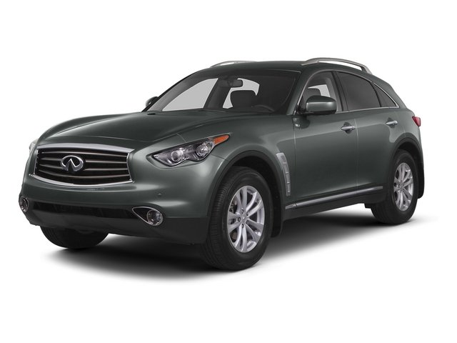 2015 INFINITI QX70 Prices and Values Utility 4D AWD V6 side front view