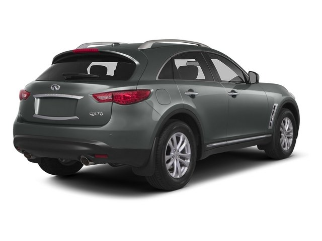 2015 INFINITI QX70 Prices and Values Utility 4D AWD V6 side rear view