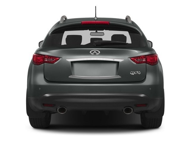 2015 INFINITI QX70 Pictures QX70 Utility 4D AWD V6 photos rear view